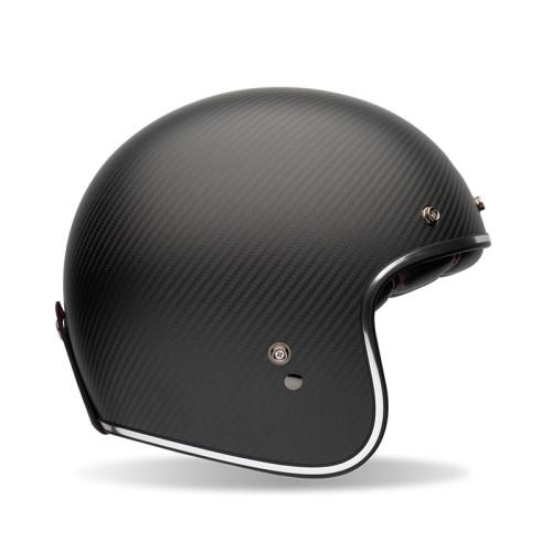 Casque moto Jet Homme BELL Custom 500 carbon