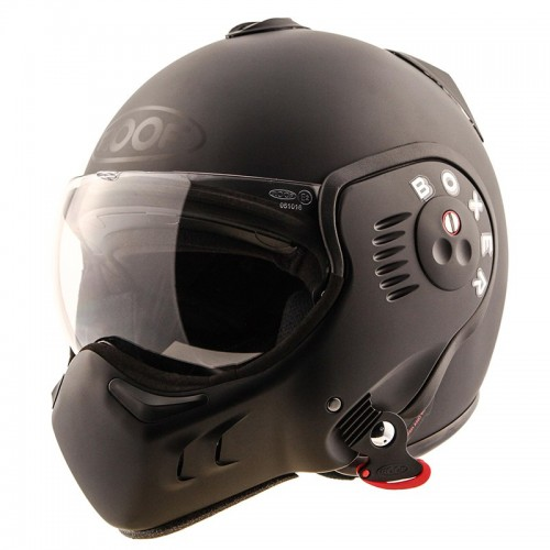 CASQUE RO5 BOXER V8 FULL BLACK - ROOF