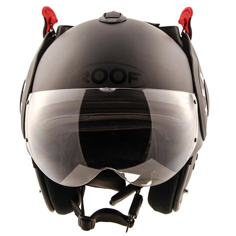 CASQUE RO5 BOXER V8 FULL BLACK - ROOF