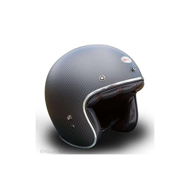 Casque Bell Custom 500 Carbon Solid