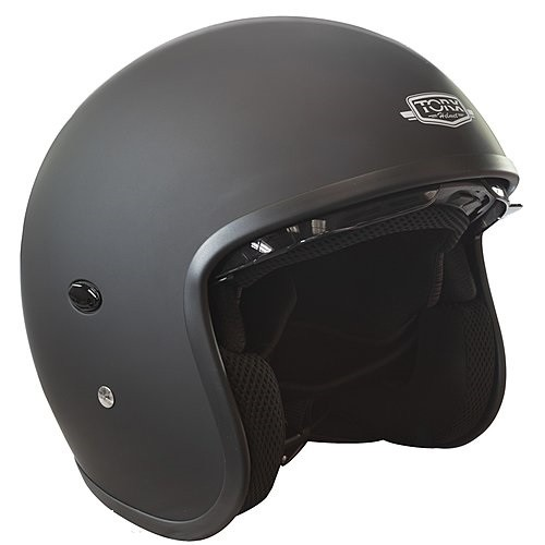 CASQUE HARRY BLACK MATT-TORX