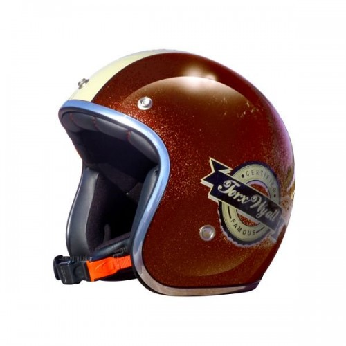 CASQUE WYATT FAMOUS PEARL BROWN-TORX
