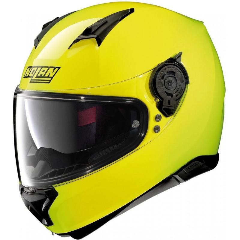 Casque moto intégral NOLAN N87 Hi-visibility n-Com