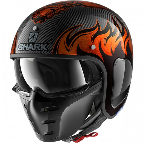 CASQUE S-DRAK CARBON DAGON-SHARK