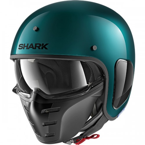 CASQUE S-DRAK BLANK METAL-SHARK