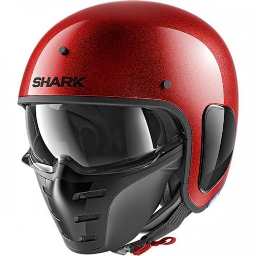 CASQUE S-DRAK BLANK GLITTER-SHARK
