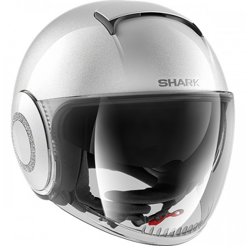 CASQUE SHARK NANO CRYSTAL BLANK-SHARK