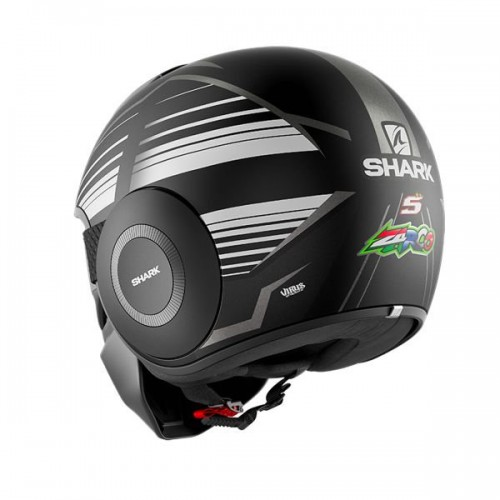 CASQUE SHARK NANO ZARCO MAT MALAYSIAN GP-SHARK