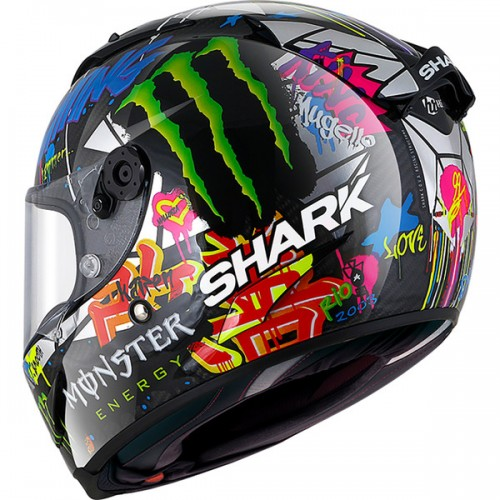 CASQUE SPARTAN CARB 1.2 LORENZO CATALUNYA GP-SHARK