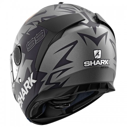 CASQUE SPARTAN 1.2 LORENZO MAT GP-SHARK