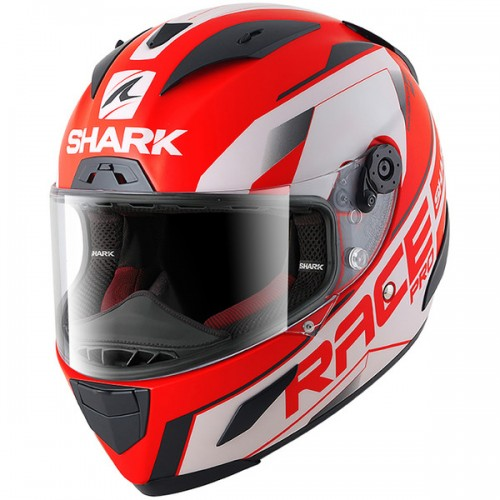 CASQUE RACE-R PRO SAUER Mat-SHARK