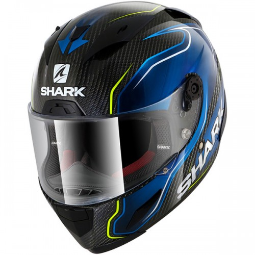 CASQUE RACE-R PRO CARB GUINTOLI-SHARK