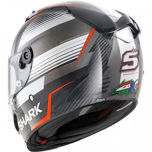 CASQUE RACE-R PC ZARCO MALAYS. GP-SHARK