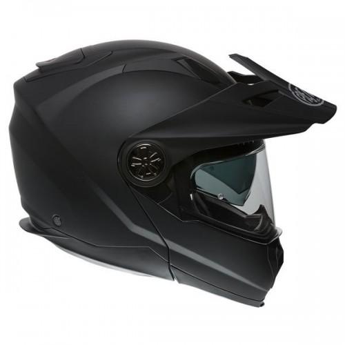 CASQUE MOTO MODULABLE XTRAIL U9BM NOIR MAT-PREMIER