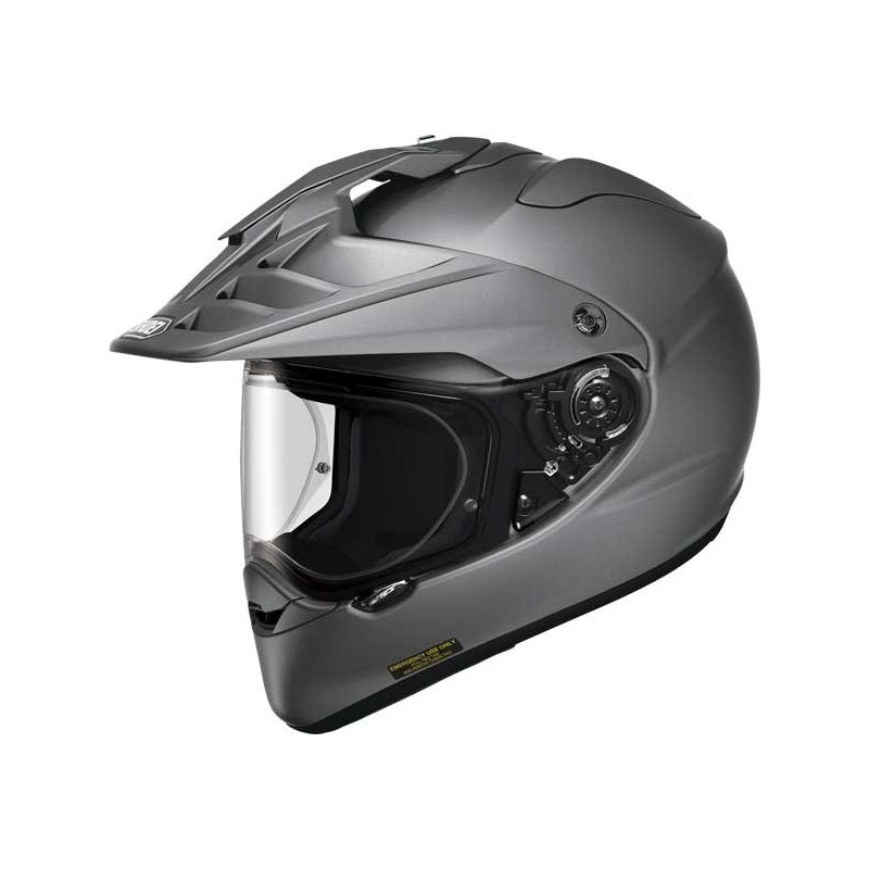 Casque Moto Homme SHOEI HORNET ADV MAT DEEP GREY