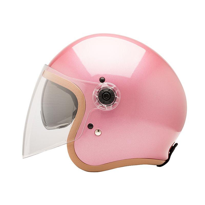 CASQUE JET HERA 2 - MÂRKÖ (Pink Gold)