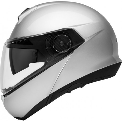 CASQUE C4 BASIC Glossy Silver-SCHUBERTH
