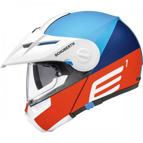 CASQUE E1 ECE Cut Blue-SCHUBERTH