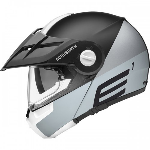 CASQUE E1 ECE Cut Grey-SCHUBERTH