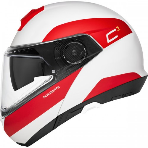 CASQUE C4 PRO ECE Fragment Red-SCHUBERTH