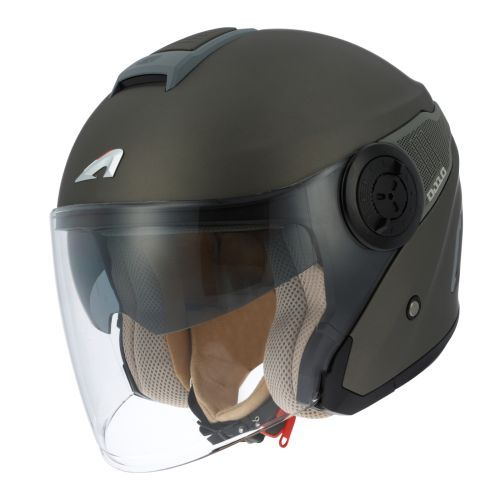 Casque moto jet ASTONE DJ10 - 2 monocolor matt