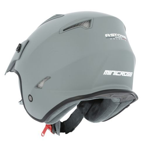 Casque moto jet Astone MINI CROSS monocolor matt