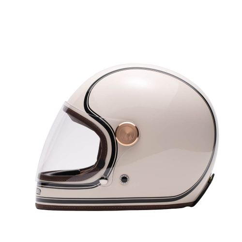 CASQUE INTEGRAL FULL MOON - MÂRKÖ (Beige/Noir)