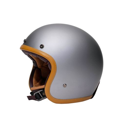 CASQUE JET THE CLASSIC - MÂRKÖ (Gris mat)