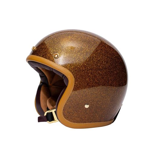 CASQUE JET THE CLASSIC - MÂRKÖ (Marron)