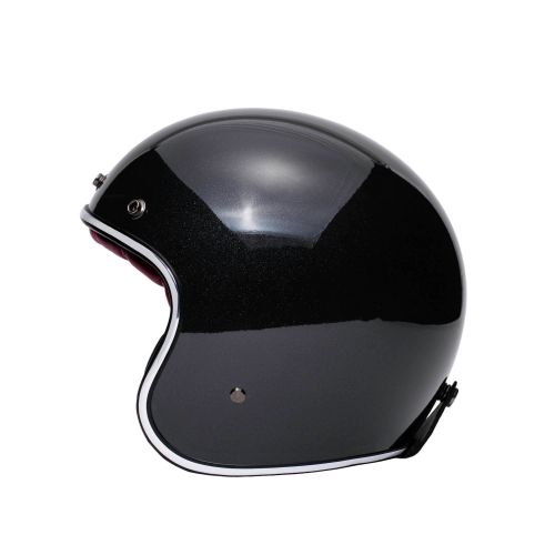 CASQUE JET THE CLASSIC - MÂRKÖ (Noir/Rouge)