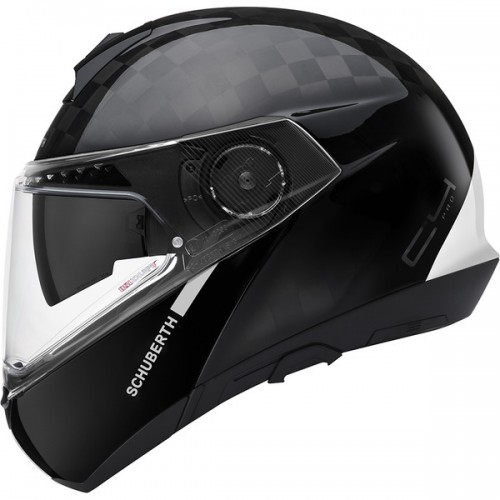 CASQUE C4 PRO CARBON ECE Fusion White-SCHUBERTH