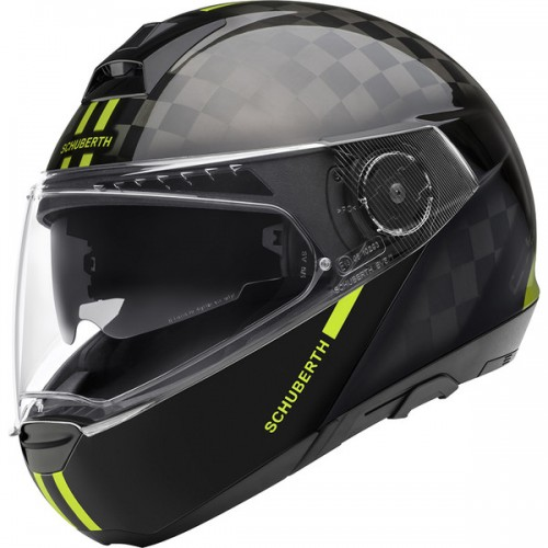 CASQUE C4 PRO CARBON ECE Fusion Yellow-SCHUBERTH