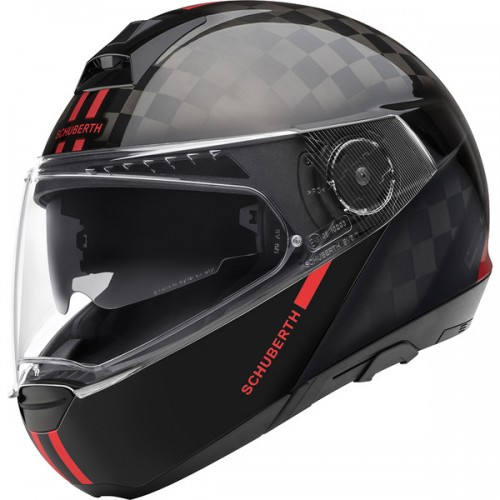 CASQUE C4 PRO CARBON ECE Fusion Red-SCHUBERTH