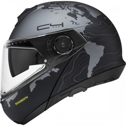 CASQUE C4 PRO WOMEN ECE Magnitudo Black-SCHUBERTH