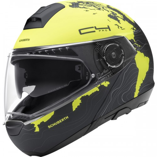 CASQUE C4 PRO WOMEN ECE Magnitudo Yellow-SCHUBERTH