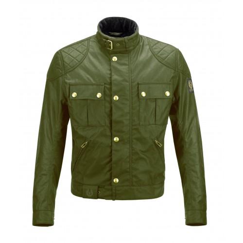 Blouson BELSTAFF - Brooklands Waxed 8oz Cotton British Green