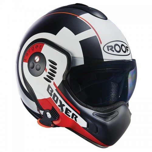 CASQUE MODULABLE BOXER V8 TARGET-ROOF