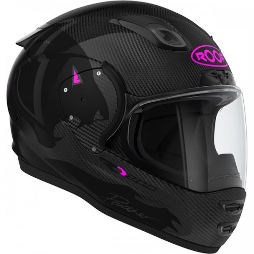 CASQUE INTEGRAL RO200 CARBON PANTHER-ROOF