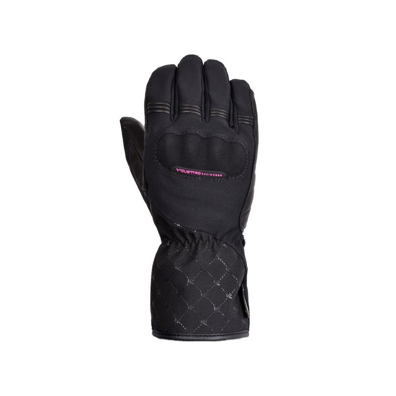 gants moto scooter V-QUATTRO GORE TEX GLOVE LADY QUARTZ