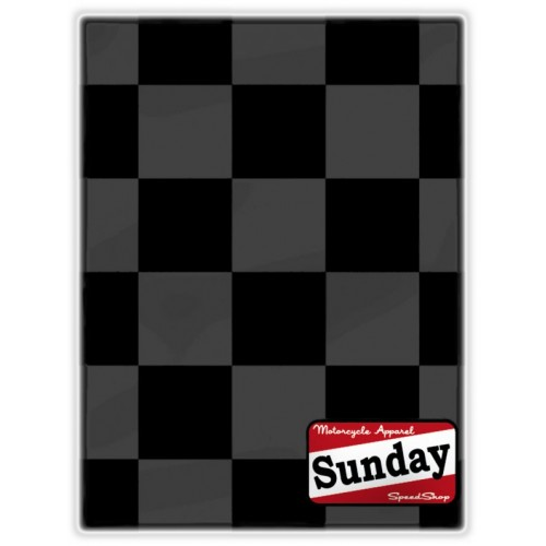 Tour de cou Sunday SpeedShop Scarf Damier Noir & Gris