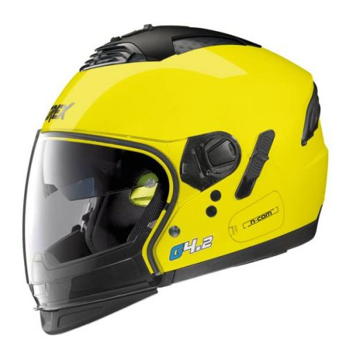 CASQUE MOTO JET G4.2 PRO KINETIC N-COM - GREX