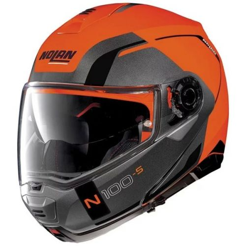 CASQUE MOTO MODULABLE N100.5 CONSISTENCY LED - NOLAN
