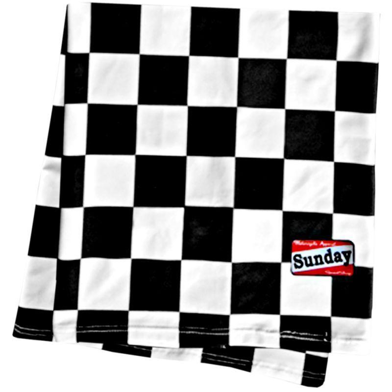 Tour de cou Sunday SpeedShop Scarf Damier Noir & Blanc