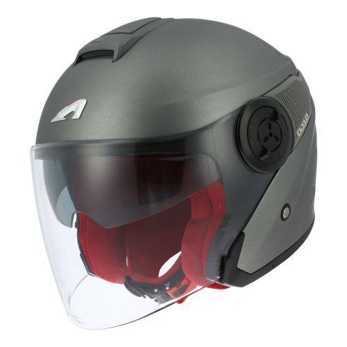 Casque moto jet ASTONE DJ8 monocolor Matt
