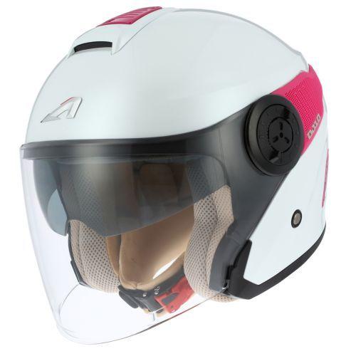 Casque moto jet ASTONE DJ10 - 2 monocolor