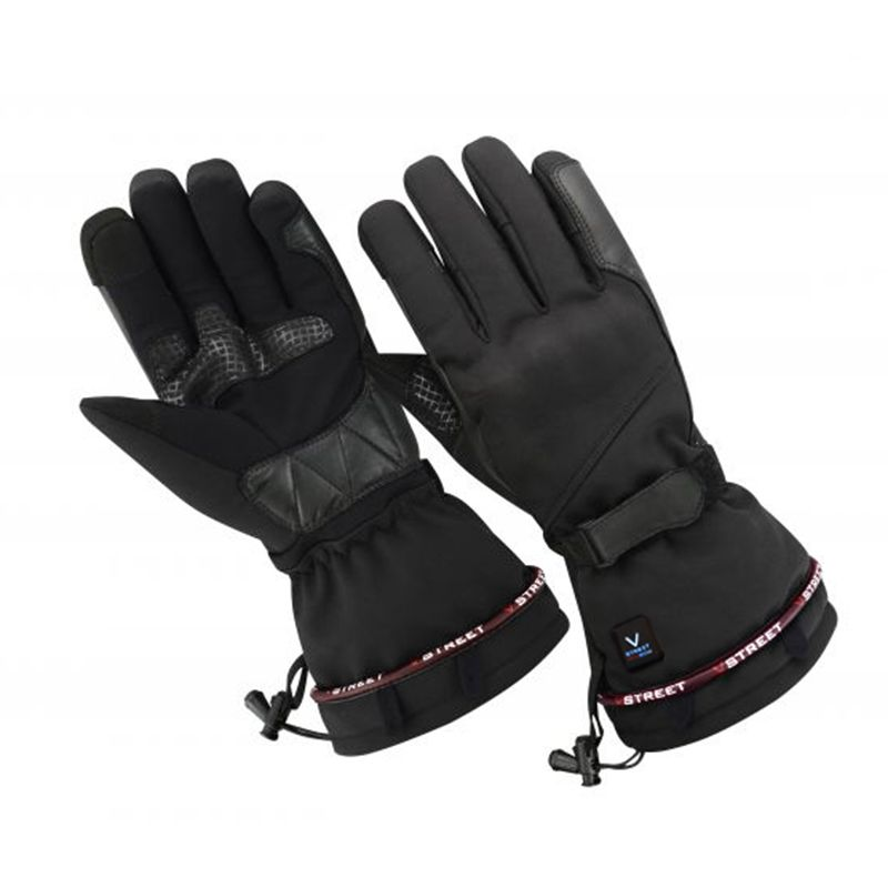 GANTS MOTO FEMME CHAUFFANTS V-STREET SOFT POWER HEATING