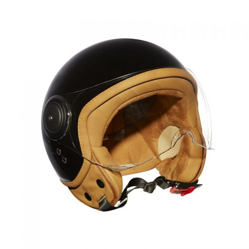 Casque Moto Jet ELEMENTS -MÂRKÖ (Noir)