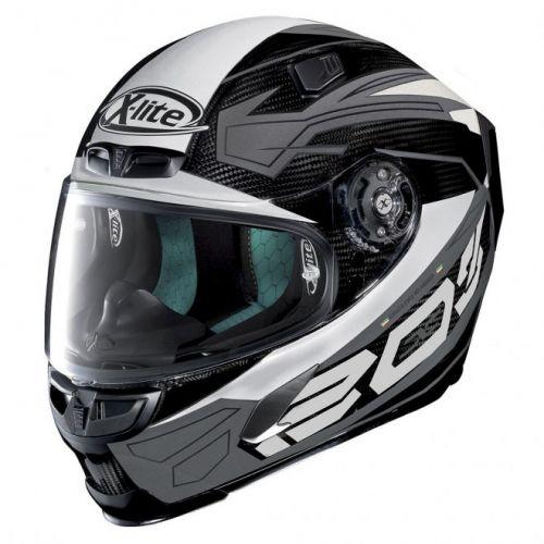 Casque Moto Intégral NOLAN - X803 Ultra Carbon Tester White