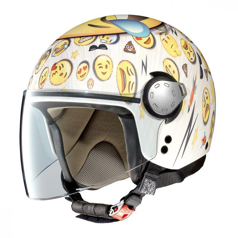 Casque Moto Jet NOLAN - G3.1 Helmetart Lol - Flat