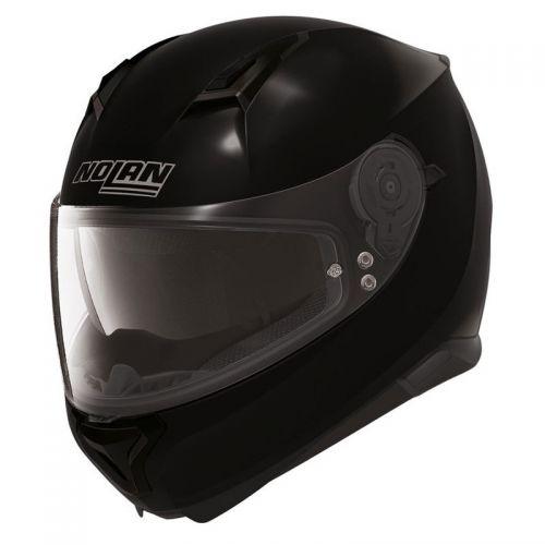 Casque Moto Intégral NOLAN - N87 Classic N-Com Glossy Black